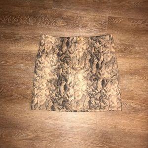 Dresses & Skirts - ✨✨✨ Faux Snake Skin Mini Skirt✨✨✨